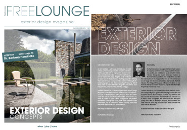 Editorial – Freelounge Exterior Design Magazine