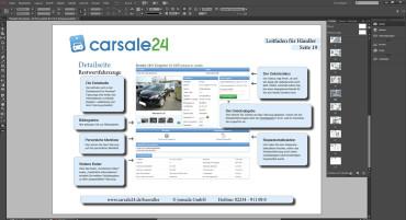 Adobe InDesign: Handbuch für Kfz-Händler