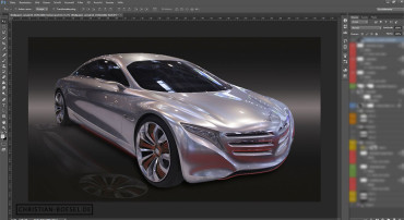 Photoshop – Concept Car