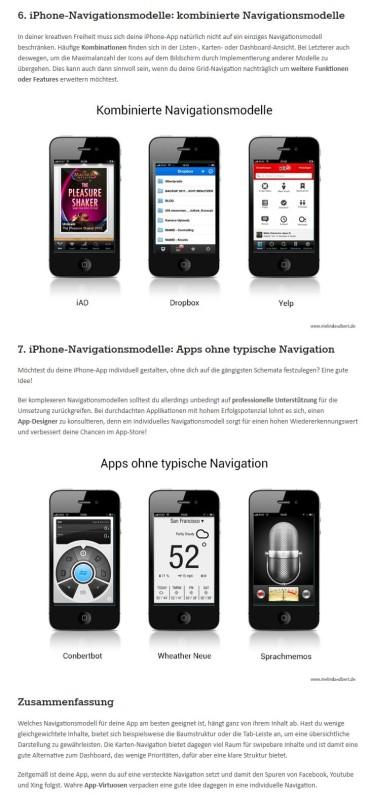 Redaktionelle Arbeit für MA Mobile Design Berlin